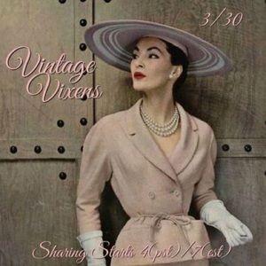 TUESDAY 3/30 Vintage Vixens Sign Up Sheet